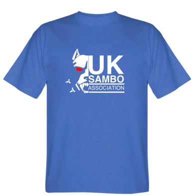Футболка UK Sambo Association