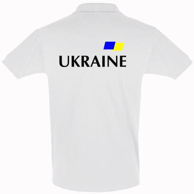 Футболка Поло FLAG UKRAINE