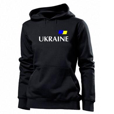 Толстовка жіноча FLAG UKRAINE