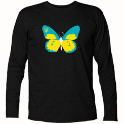 Купити Футболка з довгим рукавом Український метелик