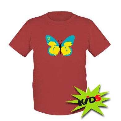 Купити Дитяча футболка Український метелик
