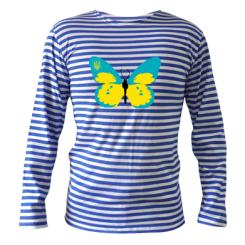 Купити Тільняшка з довгим рукавом Український метелик
