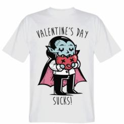 Футболка Valentine's day SUCKS!