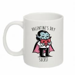 Кружка 320ml Valentine's day SUCKS!