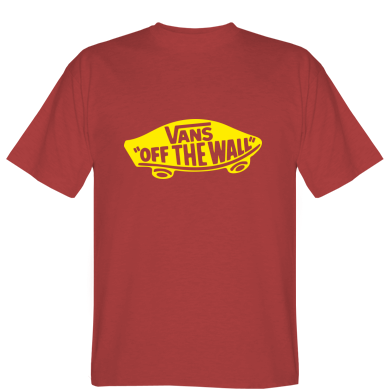 Футболка Vans of the Logo walll