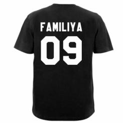 Чоловічі футболки з V-подібним вирізом Ваше прізвище та номер