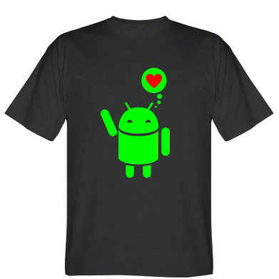 Футболка Закоханий Android