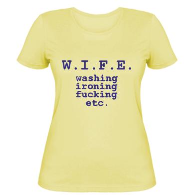 Жіночі футболки Жінка - купити футболку Жінка в Києві 21bd8a748539b