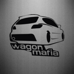 Наклейка Wagon Mafia Logo