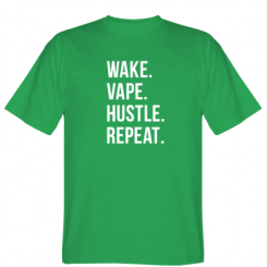 Футболка Wake.Vape.Hustle.Repeat.