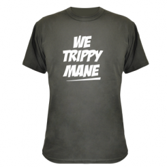 Камуфляжна футболка We run mane