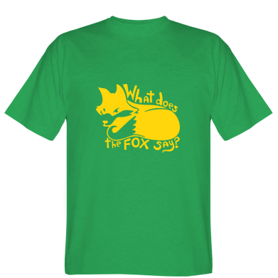 Футболка What does fox say?