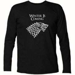 Футболка с длинным рукавом Winter is coming (Игра престолов)