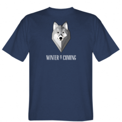 Футболка Winter is coming Wolf