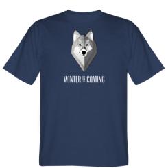 Футболка Winter is coming Wolf
