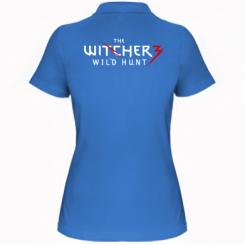 Жіноча футболка поло Witcher 3 Wild Hunt