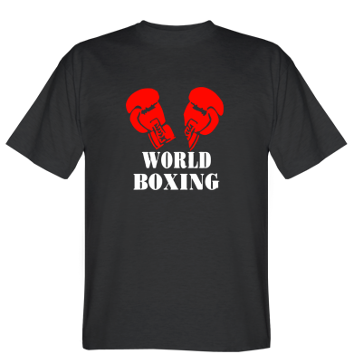 Футболка World Boxing