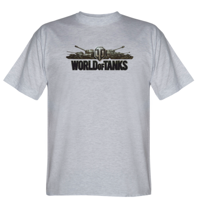 Футболка World Of Tanks 3D Logo
