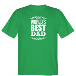 Футболка World's Best Dad