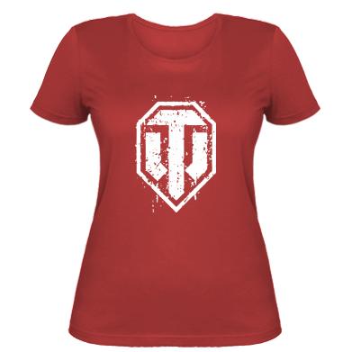 Жіноча футболка WOT Logo