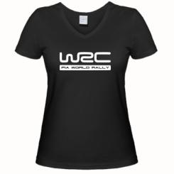 Купити Жіноча футболка з V-подібним вирізом WRC