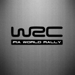 Купити Наклейка WRC