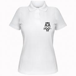 Купити Жіноча футболка поло Я завжди злий