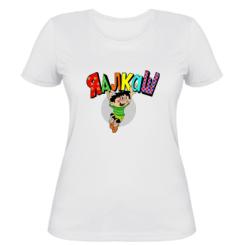 Жіноча футболка Яалкаш