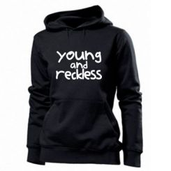 Толстовка жіноча Young and Reckless
