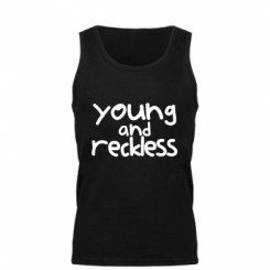 Майка чоловіча Young and Reckless