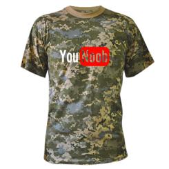 Купити Камуфляжна футболка YouNOOB