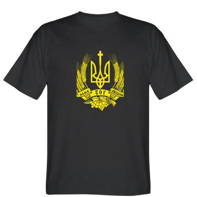 Футболка З нами Бог України
