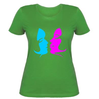 Жіноча футболка Жіноча поцілунок