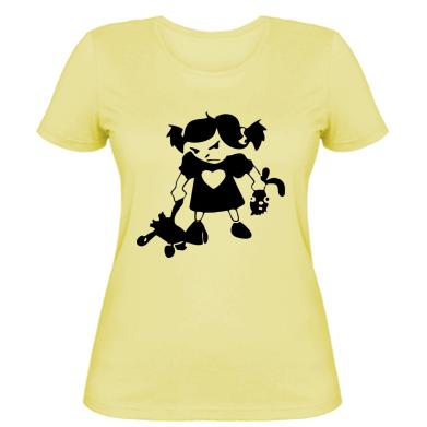 Жіноча футболка Злюка