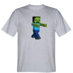 Футболка Зомби Minecraft