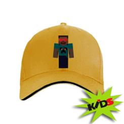 Детская кепка Zombie Minecraft