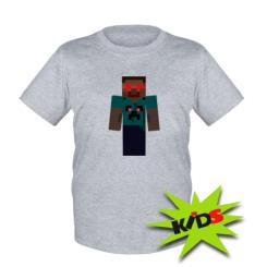 Детская футболка Zombie Minecraft