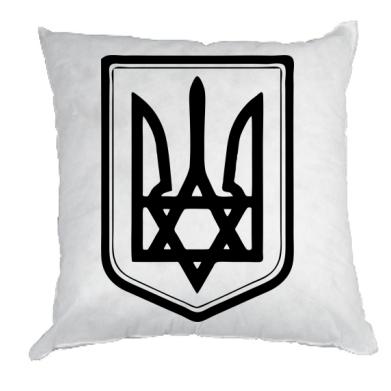Купить Подушка Звезда Давида+герб