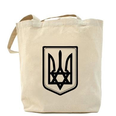 Купить Сумка Звезда Давида+герб