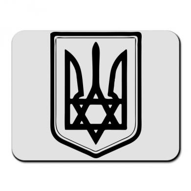 Купить Коврик для мыши Звезда Давида+герб