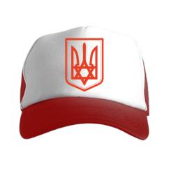Купить Кепка-тракер Звезда Давида+герб