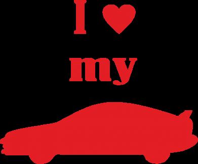 Купити Фартуx I love my car