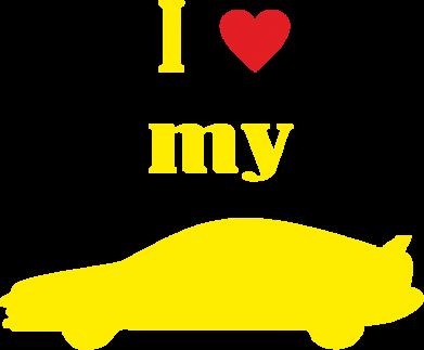 Купити Майка чоловіча I love my car