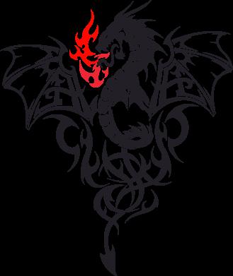 Купити Кружка 420ml Дракон