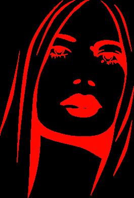 Купити Подушка Обличчя дівчини
