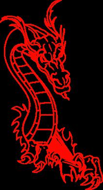 Купити Килимок для миші Дракончик
