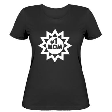 Жіноча футболка # 1 MOM