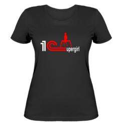 Жіноча футболка 1Сupergirl 3