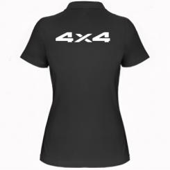 Купити Жіноча футболка поло 4x4
