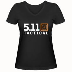 Купити Жіноча футболка з V-подібним вирізом 5.11 tactical